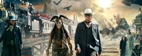 Johnny Depp em cartaz e trailer de O Cavaleiro Solit&#225;rio