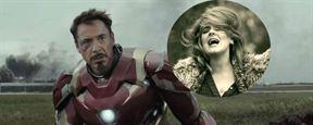 """Trailer de Capitão América: Guerra Civil ganha versão ao som de """"Hello"""" de Adele"""