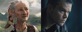 O Bom Gigante Amigo e Jason Bourne são as maiores estreias da semana