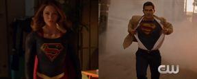 Supergirl e Superman se unem para salvar o dia no primeiro clipe da segunda temporada