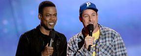 Adam Sandler e Chris Rock vão atuar juntos em comédia da Netflix