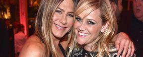 Jennifer Aniston e Reese Witherspoon vão atuar juntas em série sobre programas matinais de TV