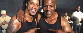 Filme com Ronaldinho Gaúcho e Mike Tyson chega ao streaming no Brasil