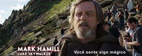 CCXP 2017: Star Wars - Os Últimos Jedi ganha vídeo de bastidores das filmagens