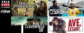 Mogli - O Menino Lobo e Rua Cloverfield, 10 estão disponíveis no Telecine On Demand
