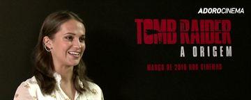 Tomb Raider - A Origem: Alicia Vikander fala sobre Angelina Jolie, Mulher-Maravilha e a influência de Indiana Jones (Exclusivo)