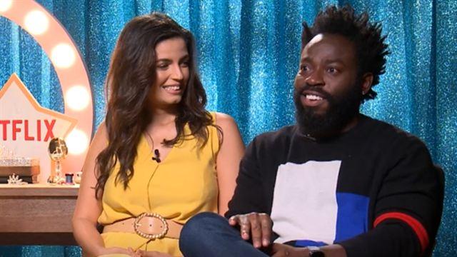 Samantha! Entrevista (2) Emanuelle Araújo e Douglas Silva
