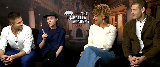 Entrevista com o elenco de The Umbrella Academy