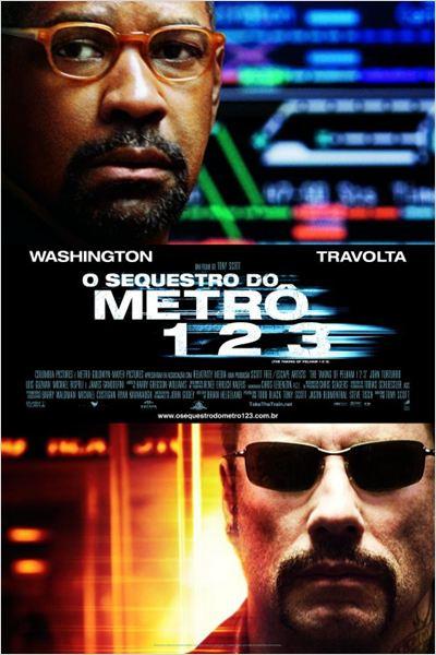 O Sequestro do Metrô 1 2 3 : Poster