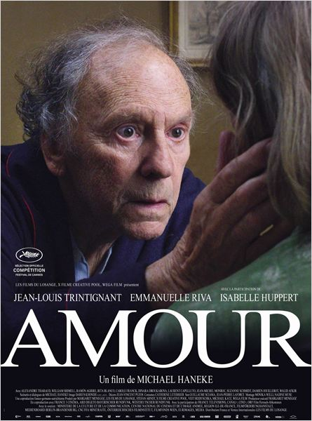 Amor : poster Emmanuelle Riva, Jean-Louis Trintignant, Michael Haneke