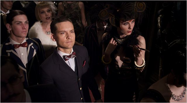 O Grande Gatsby : Foto Elizabeth Debicki, Tobey Maguire