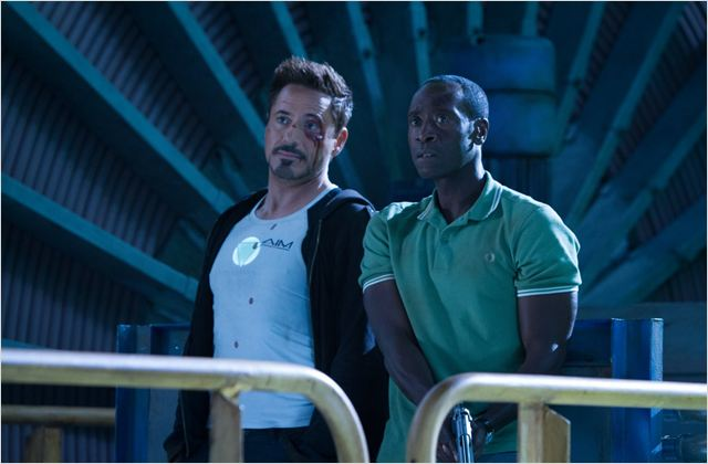 Homem de Ferro 3 : Foto Don Cheadle, Robert Downey Jr.