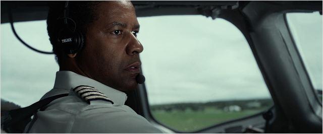 O Voo : foto Denzel Washington