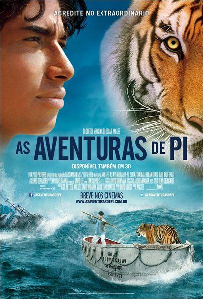 As Aventuras de Pi : poster