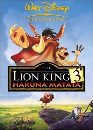 O Rei Leão 3: Hakuna Matata : Poster