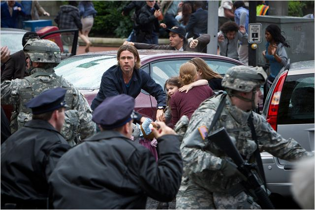 Guerra Mundial Z : Foto Brad Pitt