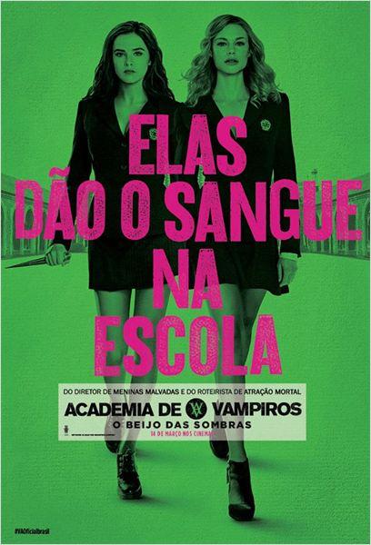 Academia de Vampiros - O Beijo das Sombras : Poster