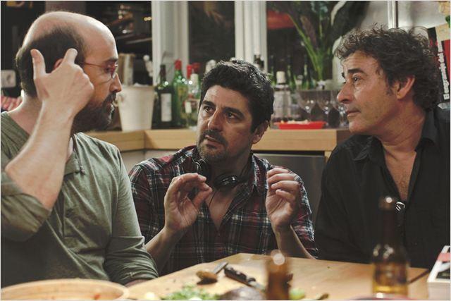 O Que os Homens Falam : Foto Cesc Gay, Eduard Fernández, Javier Cámara