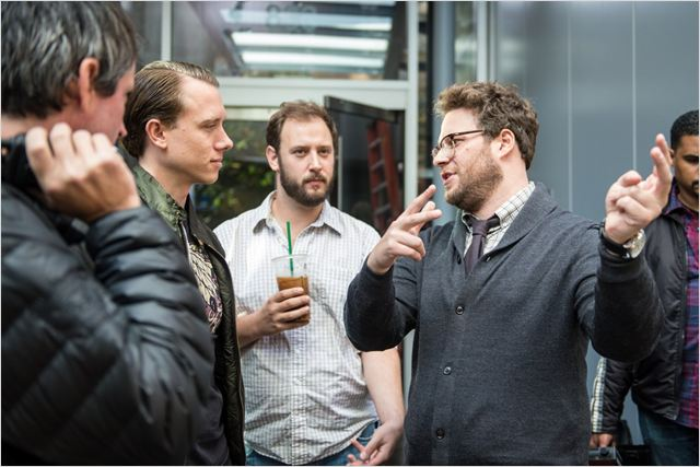 A Entrevista : Foto Brandon Trost, Evan Goldberg, Seth Rogen