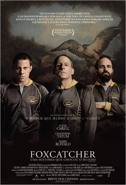Foxcatcher - Uma História que Chocou o Mundo : Poster