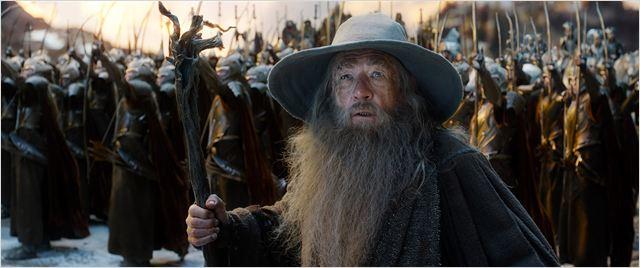 O Hobbit: A Batalha dos Cinco Exércitos : Foto Ian McKellen