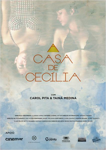 A Casa de Cecília : Poster