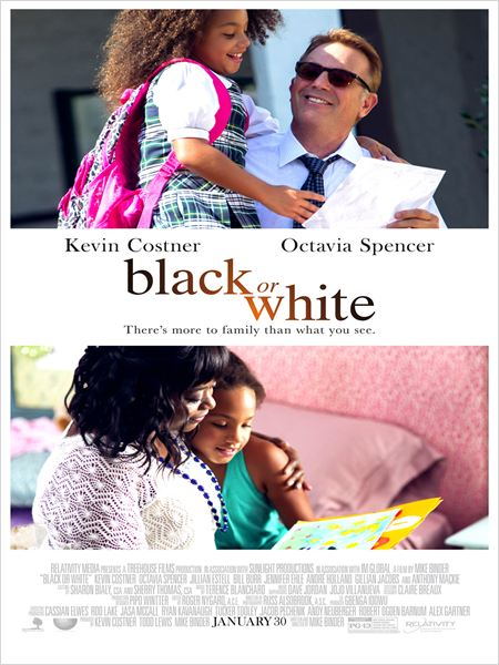 Black or White : Poster