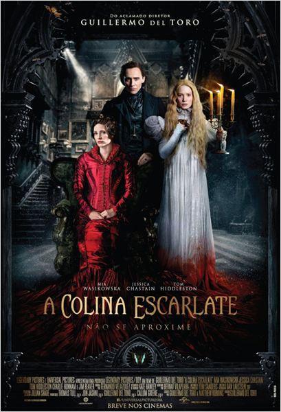 A Colina Escarlate : Poster