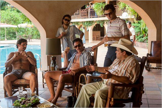 Foto Juan Pablo Raba, Juan Riedinger, Luis Guzman, Roberto Urbina, Wagner Moura