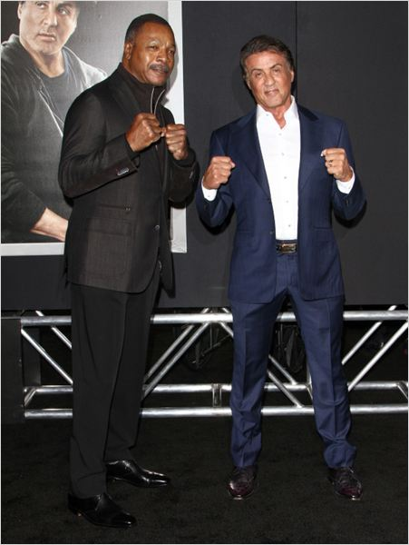 Creed: Nascido Para Lutar : Vignette (magazine) Carl Weathers, Sylvester Stallone