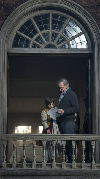 O Bom Gigante Amigo : Foto Ruby Barnhill, Steven Spielberg