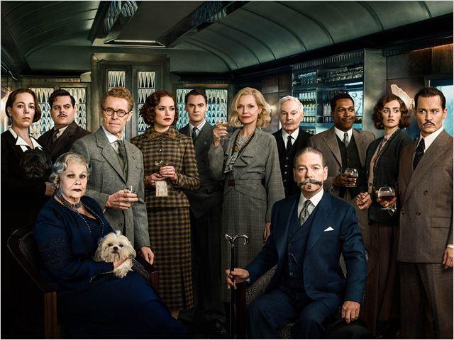 Assassinato no Expresso do Oriente : Foto Daisy Ridley, Derek Jacobi, Johnny Depp, Josh Gad, Judi Dench