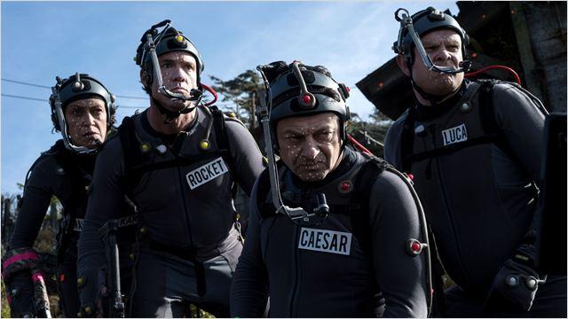 Planeta dos Macacos: A Guerra : Foto Andy Serkis, Terry Notary