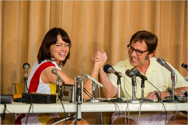 Battle Of The Sexes : Foto Emma Stone, Steve Carell