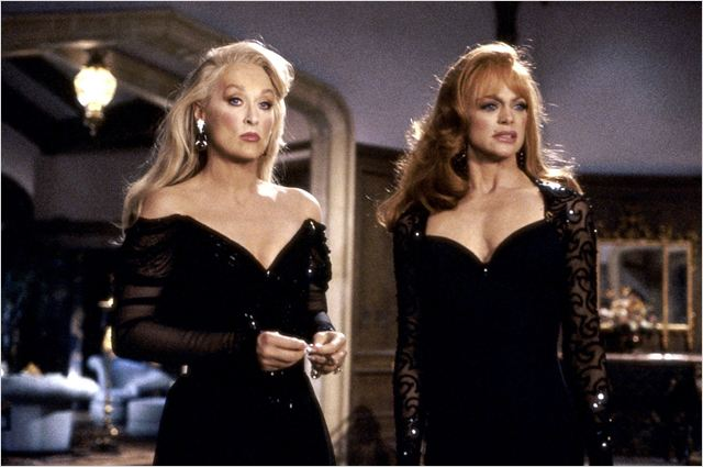 A Morte lhe Cai Bem : Foto Goldie Hawn, Meryl Streep