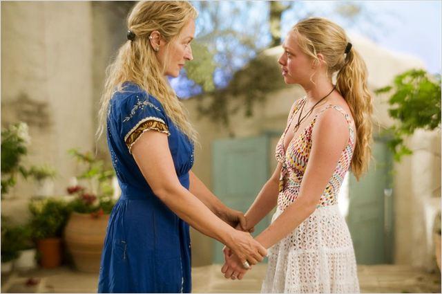 Mamma Mia! - O Filme : Foto Amanda Seyfried, Meryl Streep