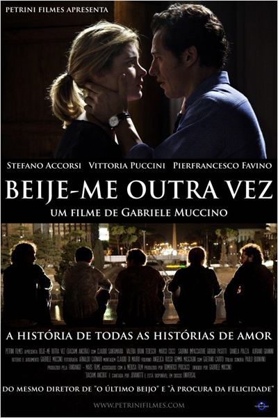 Beije-me Outra Vez : Poster