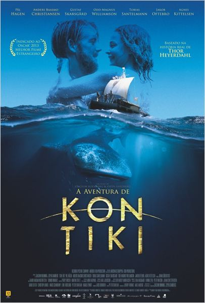 A Aventura de Kon Tiki : Poster