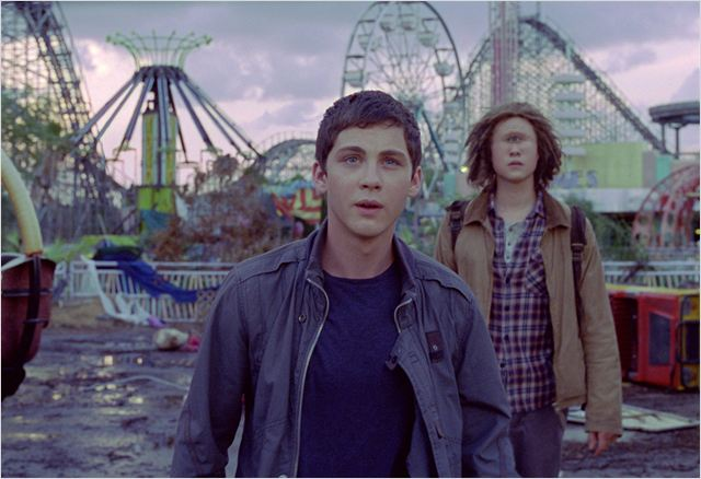 Percy Jackson e o Mar de Monstros : Foto Douglas Smith, Logan Lerman