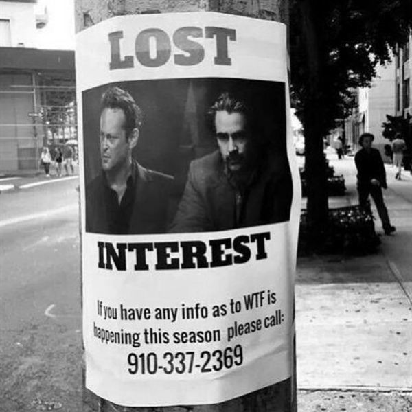 True Detective foi... difícil.