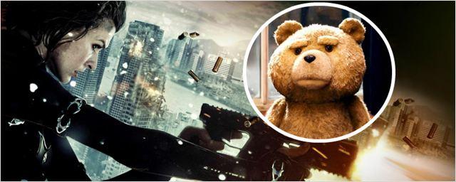 Bilheterias Brasil: Comédia Ted não consegue superar Resident Evil 5: Retribuição