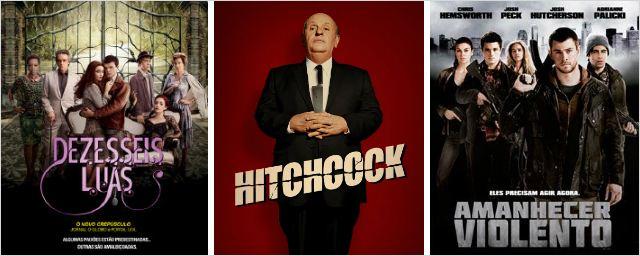 Dezesseis Luas, Hitchcock e Amanhecer Violento são as principais estreias da semana