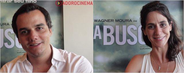 Vídeo exclusivo - Wagner Moura e Mariana Lima conversam sobre A Busca