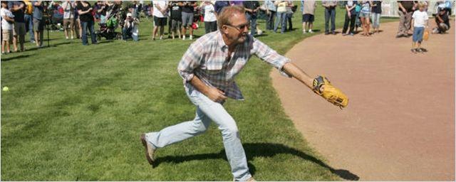 Kevin Costner volta à fazenda de Campo dos Sonhos, 25 anos depois do lançamento do filme