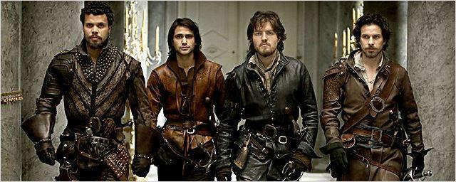The Musketeers chega ao Brasil em julho