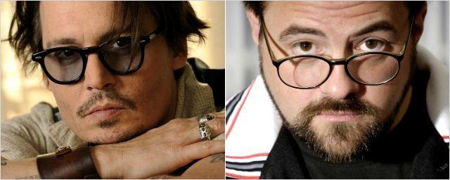 Johnny Depp e Kevin Smith juntos em filme estrelado por suas filhas!