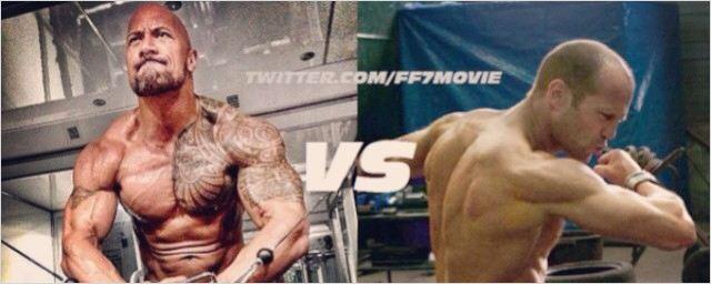 Dwayne Johnson e Jason Statham lutam em nova imagem de Velozes & Furiosos 7