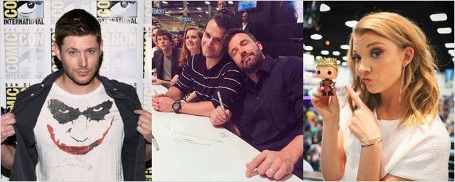 Comic-Con 2015: Confira as fotos mais divertidas dos atores no evento!