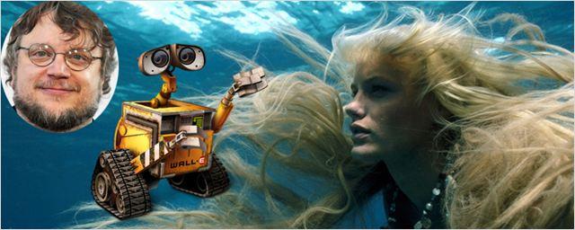 """Guillermo del Toro desenvolve projeto vendido como """"encontro de Wall-E com Splash - Uma Sereia em Minha Vida"""""""