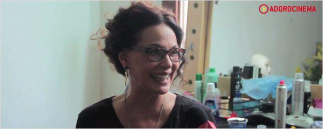A Glória e a Graça: Confira os bastidores do filme que traz Carolina Ferraz como travesti (exclusivo)